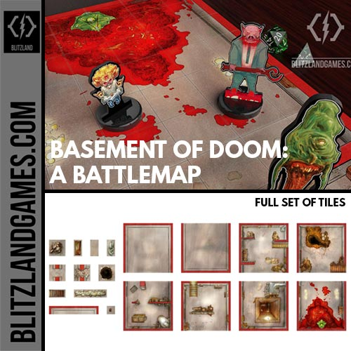 Basement of Doom - full tile set