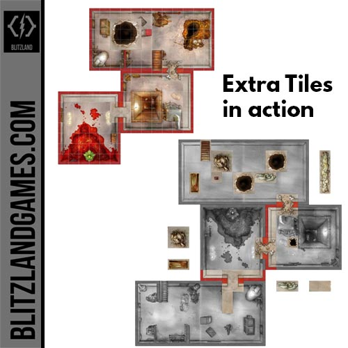 estra tiles in action