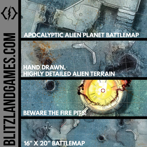 APOKALYPTIC ALIEN PLANET